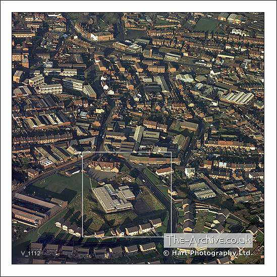 V1112 Aerial View Lye, Stourbridge