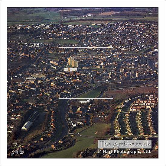 V1128 Aerial View Stourbridge