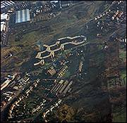 V1122 Aerial View Lyde Green, Cradley