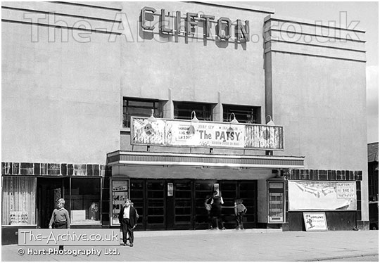 V137 The Clifton Cinema Lye
