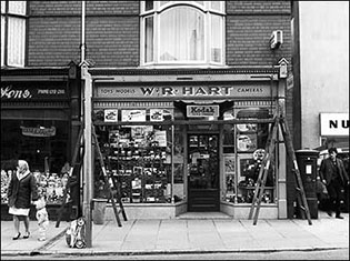 W R Hart Photography during the late 1950's to early 1960's